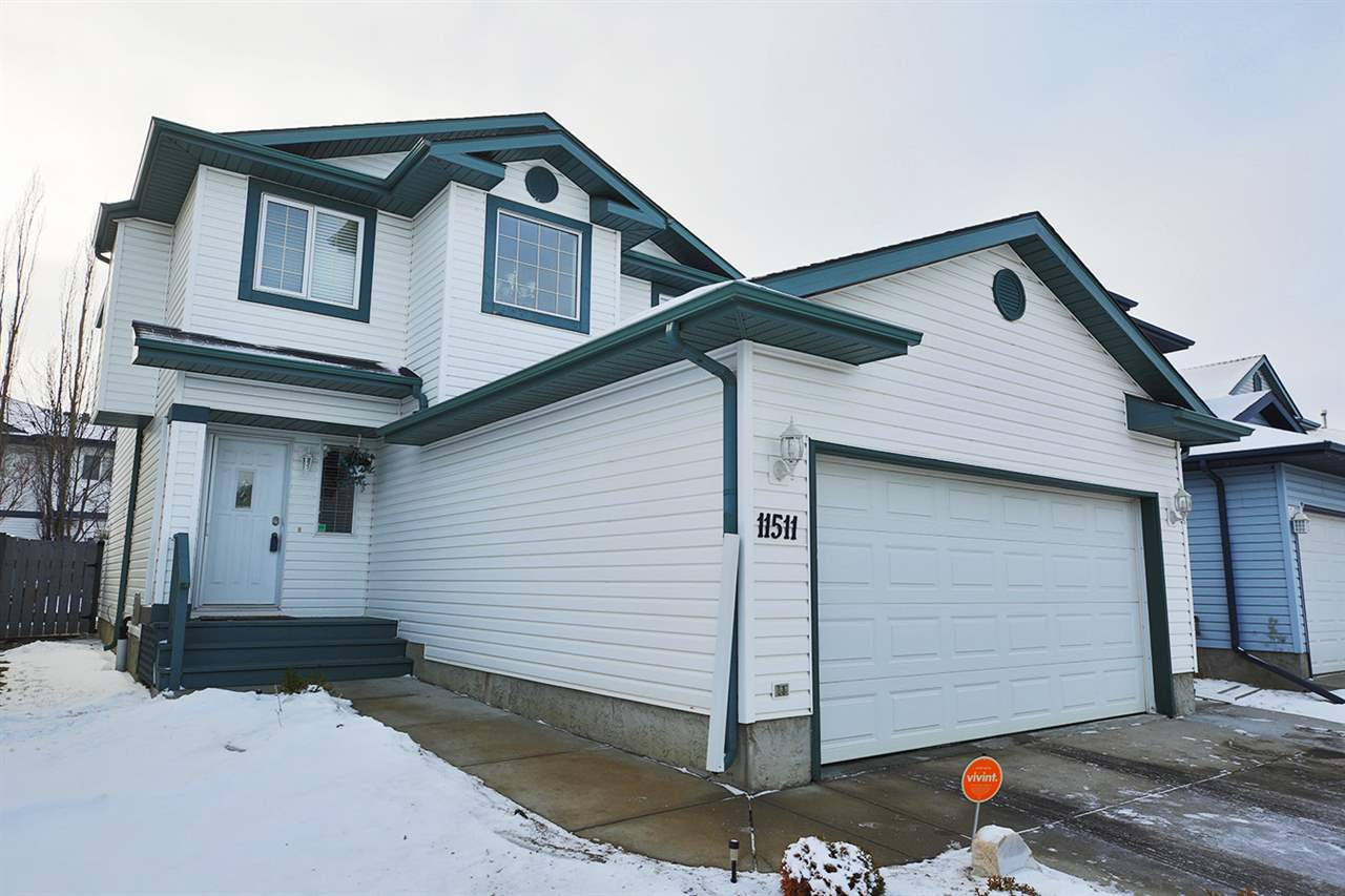 Very rare that you come across a home this well maintained!. This 2 story looks like it has barely been lived in. The entrance features TILE flooring and HARDWOOD throughout the rest of the home including the staircase and landing upstairs. The living area features a gas fireplace and is bright with the south facing windows. The dining area allows access to the large deck and stone patio in the large south facing backyard. The kitchen has been updated to reflect modern times. Upstairs you will find lots of natural light coming in from the window in the open to above ceiling. The Master bedroom offers His & Hers closets and Sinks in the spacious Ensuite. There are 2 more bedrooms on this level with access to their own 4 pc bathroom. In the FULLY FINISHED basement you will find a laundry room, living room, spacious 4th bedroom, living area and a good sized storage room. The home also has a widened driveway.