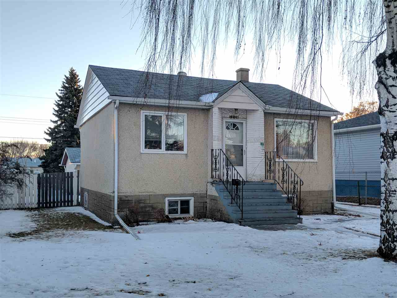 WIDE LOT with 15.2m frontage.  TRIPLE CAR GARAGE!  This 3 BEDROOM raised bungalow with 2 BATHROOMS has LOCATION, POTENTIAL AND  QUALITY OF LIFE taken care of when you look at this home.  Less than a block away from Beacon Heights School, easy access to Yellowhead & A MASSIVE, MECHANICS DREAM,  GARAGE.