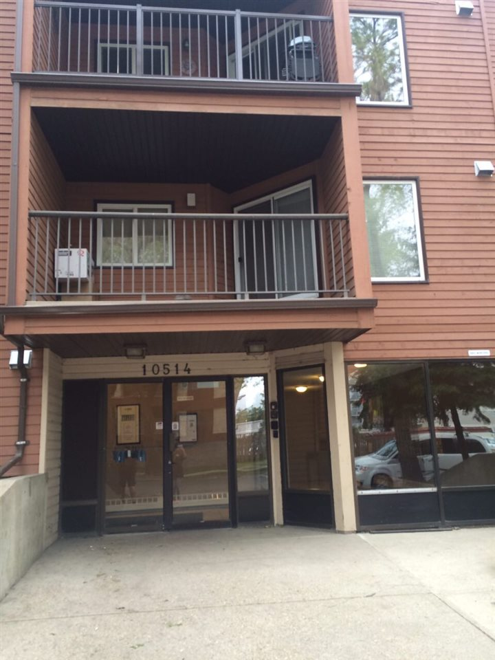 Tree-lined street and close to Rogers Place you can walk to the hockey game or concerts no need to pay for parking.  This is a great investment opportunity with the unit being fully furnished and ALL furnishing (includes dishes, linens etc) are negotiable or great for a first time buyer wanting to be in the hub of downtown.  Also, close to the river valley that has many walking and biking trails.  This unit has been fully renovated and also has a balcony. Close to playground, corner convenience store and more.  Parking spots are available to rent for $300/year.