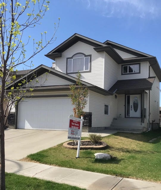 This Beautiful 2130 sq ft 2 storey has a bright roomy entrance with high ceilings.  The kitchen and great room are open and very spacious. The kitchen has ample cupboards and countertops with s/s appliances and a corner pantry. Convenient main floor laundry.  The upstairs has a cozy bonus room and huge master bedroom with tons of room for your king bed, also walk in closet and double sinks in the en suite plus 2 good size bedrooms.  The South facing back yard is fenced and has a new deck. Basement is framed and ready for your personal touch.  Bonus A/C, garage overhead heater and alarm system make up this family home located in a quiet crescent in Bridgeport.