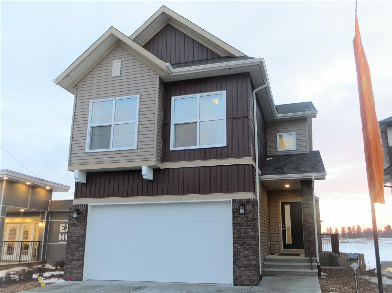 Brand new home to be built, excellent value in the Arbours of Keswick! Construction has not commenced, anticipate 7 months to build. Pick your colors and options to personalize your new home (note the interior photos are not an exact representation, options chosen will be different as the pictures are of a showhome). Measured to RMS standards. The chef's kitchen with clean lines features maple cabinets with choice of stain, island, pantry, and equipped with stainless steel appliances.  The upper level has a bonus room, 3 bedrooms including the master bedroom with walk in closet and ensuite. Laundry area is also on the upper level for added convenience.  The garage is 20x22.