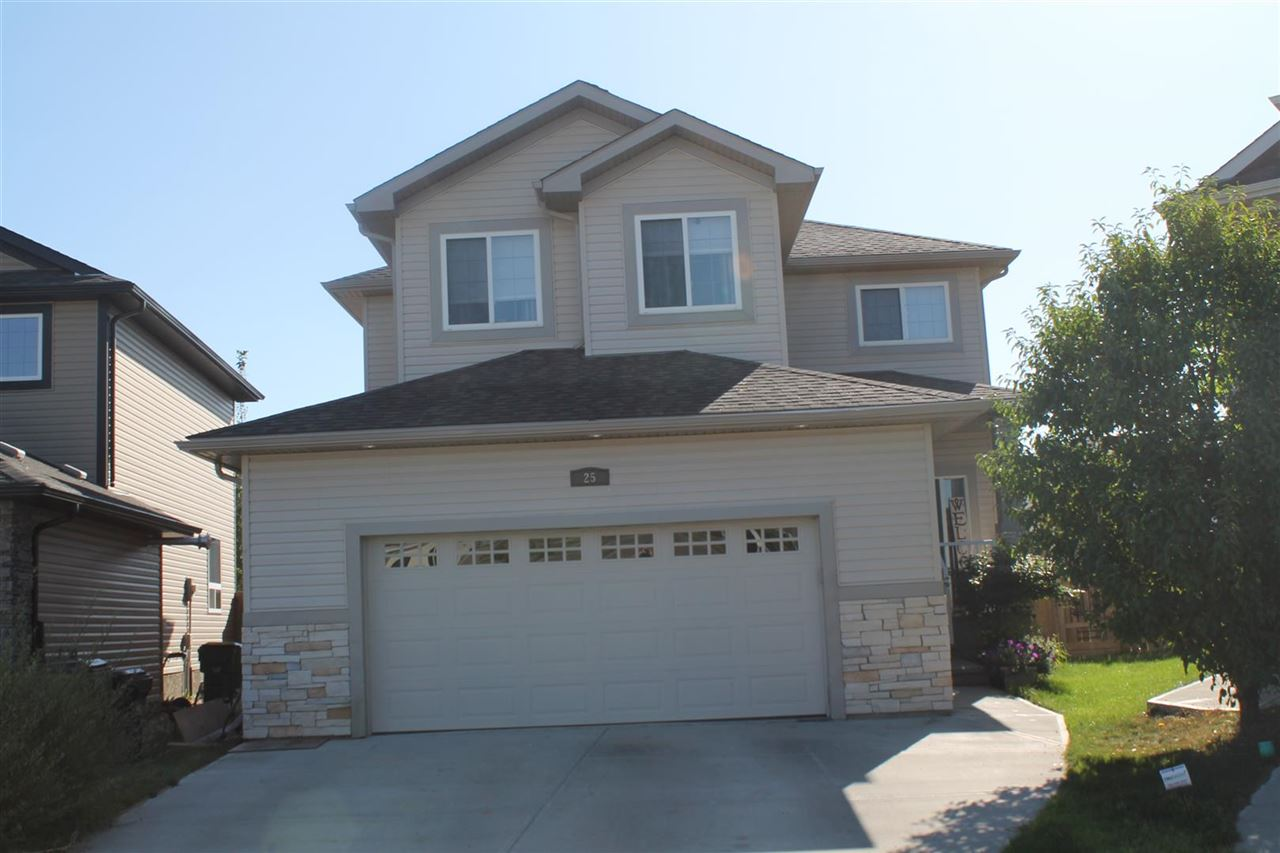 Very well maintained 2 storey located in a quiet cul-de-sac with in walking distance of a new school, in the well sought after community of South Fort. Features 3 very spacious bedroom up with the master having a walk in closet and 4 piece en-suite. Finishing off the upper level is a 4 piece family bath and a bonus room with plenty of natural sunlight. Main floor features a living room with cozy warm gas fire place, a large island kitchen with granite counter tops an loads of cupboard space, and a dining area with a patio door leading to a deck and a gigantic fenced in yard. Basement is fully finished with a large family room, addition bedroom, a 3 piece bath and a utility room with lots of storage space. Comes with central air and a heat double attached garage with water hook up and sink. This would be a great place to call home and is a real pleasure to show.
