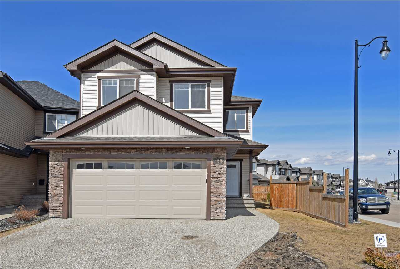 ELEGANT and SPACIOUS: 2012-built 2-Storey in Callaghan - move-in ready! Semi-private entry to open concept kitchen and dinette, complete with granite counters, island, tile backsplash, under-mount sink, dark cabinetry, ceramic tile flooring, combined dropdown and pot lighting, and sizeable double entry pantry. Facing the kitchen is an exquisite archway to the formal dining room, plus a second archway to the spacious living room featuring large windows, hardwood floors, and the tile-surround gas fireplace. Nice staircase / bannister lead to bonus room, open foyer, and large master BDRM complete with luxurious 5-piece double sink en suite & walk in closet. Also: laundry, two more bedrooms, and a full bath. Basement development option available. 23' x 19' attached and finished double garage. On the exterior: stone and vinyl, exposed aggregate driveway, fenced / landscaped with 11' x 11' deck. Near James Mowatt Trail (111 St.); Dr. Lila School (K-9); Superstore; Shopping; & Future LRT. Immed. possession!!