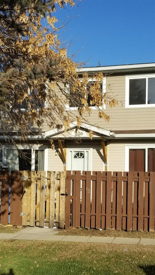 Opportunity Knocks, Solid 3+1 Bedroom 2 and Half Bath Townhouse, In need of some TLC. Located in the Heart of Leduc. Nice Fenced yard looking out into green space,  Finished Basement has 4 pce Bath, Bedroom, Laundry and Large Family Room. Reserved Stall Parking with Plug-in. Recent Complex improvements to all exteriors, Shingles, windows, some fencing etc.. Close to Schools, Shopping Transit and much more.
