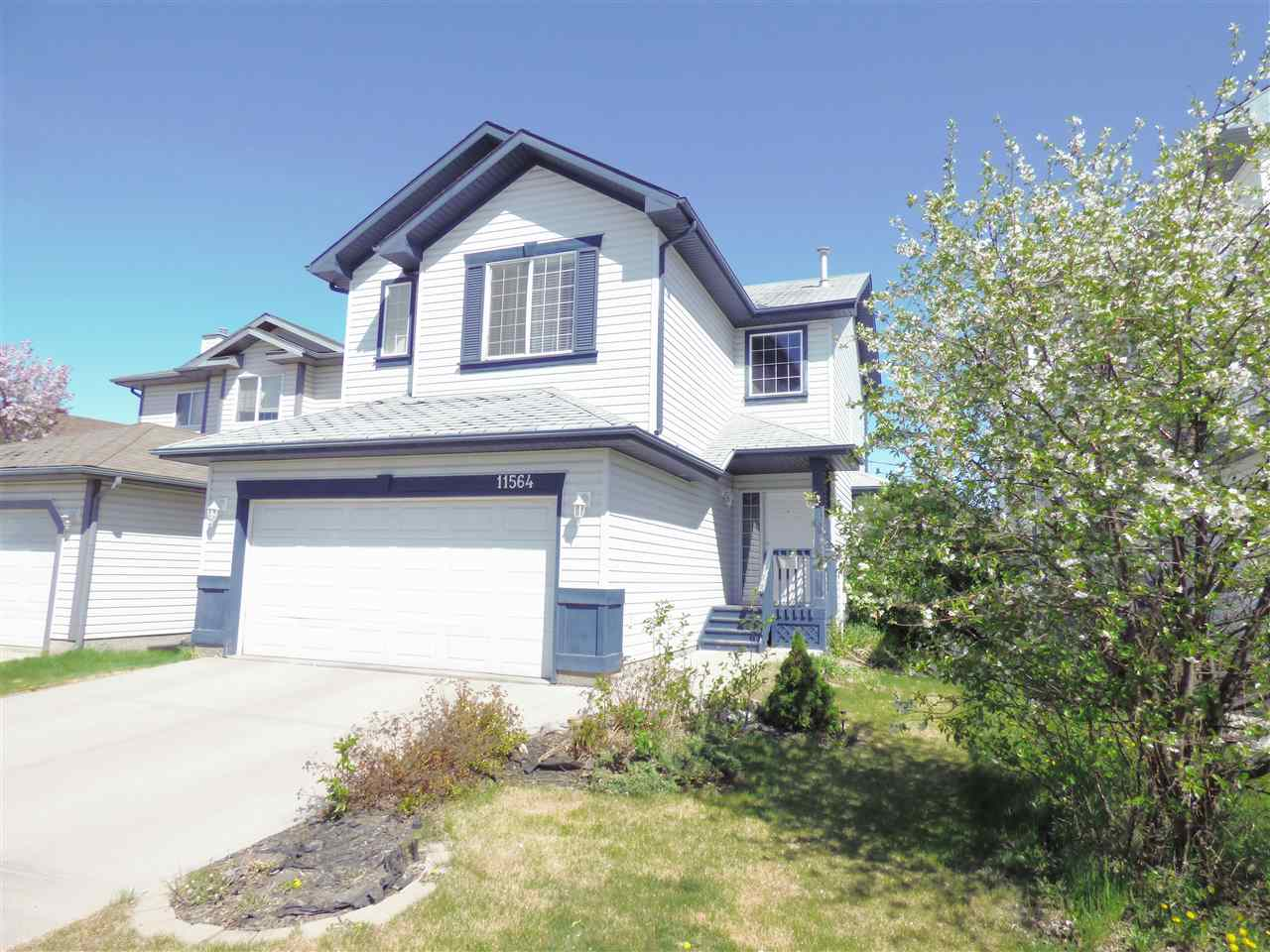 STYLE & FUNCTIONALITY IN CONCERT! This IMMACULATE family-friendly home in Canossa comes with nothing to do but MOVE IN & ENJOY! Upon entering you'll be greeted by a grand entryway, offering an excellent first impression. As you proceed, you'll continue to be impressed by the open-concept and spacious living area, modern kitchen and bright dining room. The main floor features RICH HARDWOOD & STUNNING TILE. Upstairs are 3 large bedrooms, including a master w/ WALK-IN CLOSET, VAULTED CEILINGS & 3-PIECE ENSUITE! You're also going to love the UPSTAIRS LAUNDRY ROOM! The basement is FULLY FINISHED & has a large family room, full bathroom, 9-foot-ceilings, storage & a large bedroom. Others great features include 2 FIREPLACES, BEAUTIFULLY LANDSCAPED/TREED YARD, LARGE DECK, DOUBLE ATTACHED GARAGE and so much more! The home is been lovingly maintained and upgraded over the years. This home offers quick access to SCHOOLS, SHOPPING, RESTAURANTS, PARKS, TRANSPORTATION & MORE! Act fast & ENJOY SPRING IN YOUR NEW HOME!