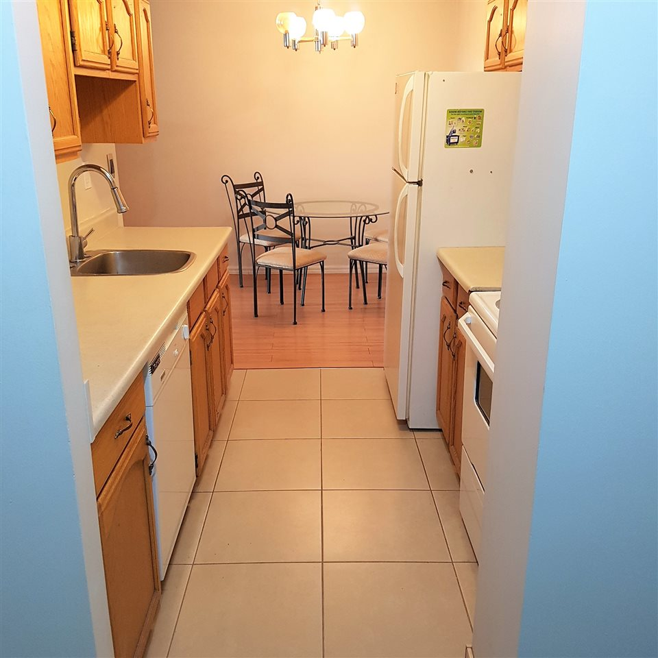 WOW, WHAT A DEAL...A surprisingly spacious 754sq.ft one bedroom condo literally in the heart of Downtown for under $150,000! You will not be disappointed with this roomy unit located on the 7th floor. Recent updates include the laminate flooring and fully renovated bathroom. The clean galley style kitchen makes cooking a breeze. Your adjoining dining area is big enough for any sized table or can be used as a den/ office space. The living room is a great space where any size furniture will fit and it has a west facing balcony door which allows tons of natural light in. The master bedroom is very well sized and has two closets. Other great features of this property are the insuite laundry/ storage, underground parking, and exercise room.  Plus you are located within walking distance to shopping, restaurants, Grant MacEwan, the river valley, and the University or the rest of the City because of the quick access to transit/LRT.  Make this your 1st home, investment property, or a better option than renting!
