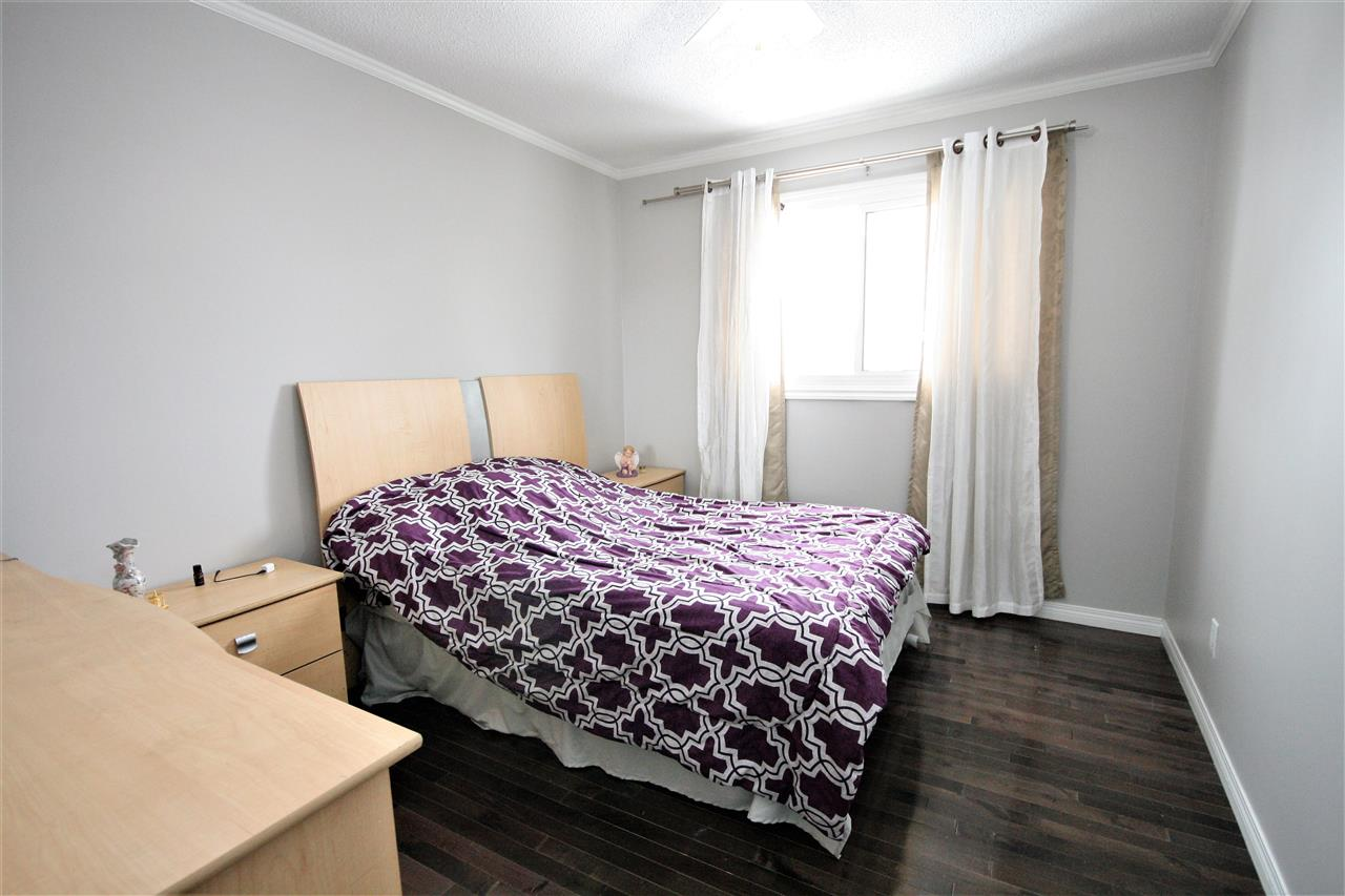 The second bedroom could accommodate a queen bed and has a north facing window.