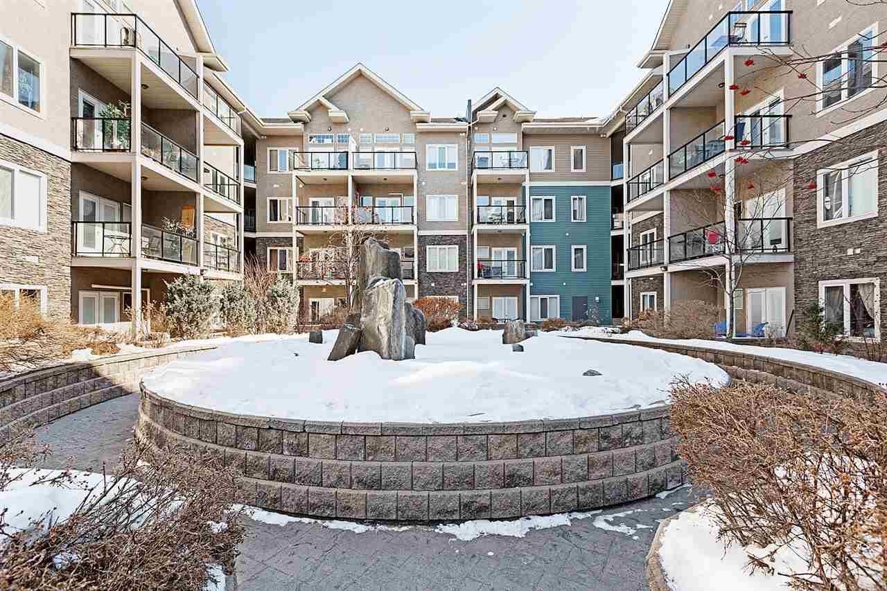 Welcome to Scona Gardens. This 2 bedroom 2 bathroom condo is ideally located just steps to all the excitement of Whyte Avenue and near transit. The unit has been recently updated with new tile and laminate flooring. The living area is bright with an open concept kitchen with eating bar and corner fireplace in the living room. The master bedroom is spacious and boasts a walk in closet and 4 pce ensuite bathroom. The building with well equipped with some very nice amenities including a HUGE gym and separate locked storage in front of the underground titled parking stall.