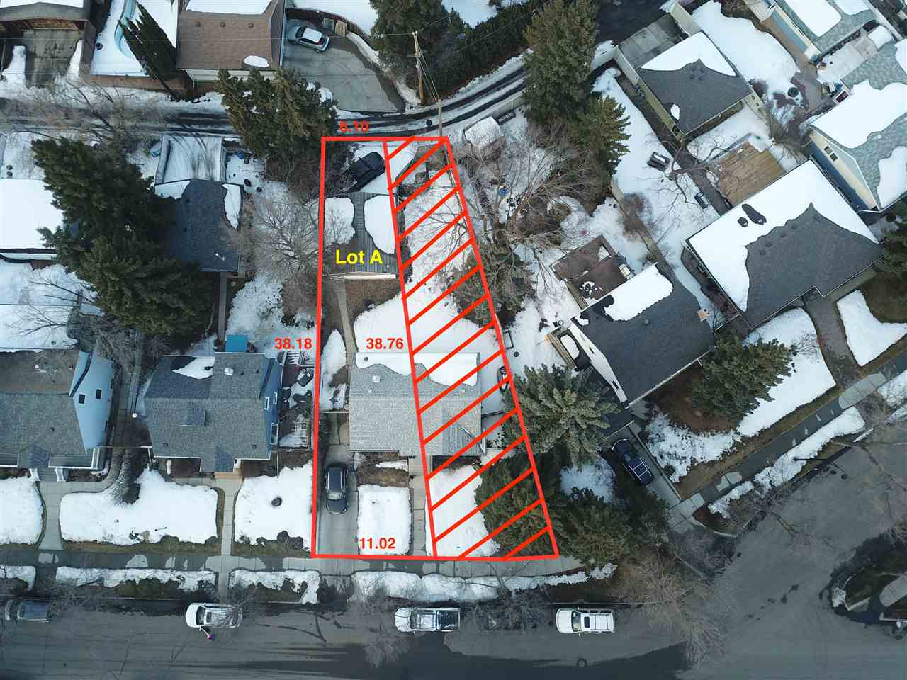 Here is a wonderful opportunity for you to build your dream home in Crestwood, one of the most sought after communities in Edmonton. This soon to be vacant lot sits on a beautiful, quiet, treed lined street just a one block from the Mackenzie Ravine. This property is also just steps from Crestwood public school, St. Paul Catholic school, loads of playgrounds, a community centre, an outdoor hockey rink and a curling club. This lot has a 36' wide frontage and 125' deep. Plenty of space to build a large 2 or 3 story home. The original home still stands however the house will be demolished and the site cleared before possession. The seller is able and willing to build a new home on the property and has awesome house designs/plans available if required.