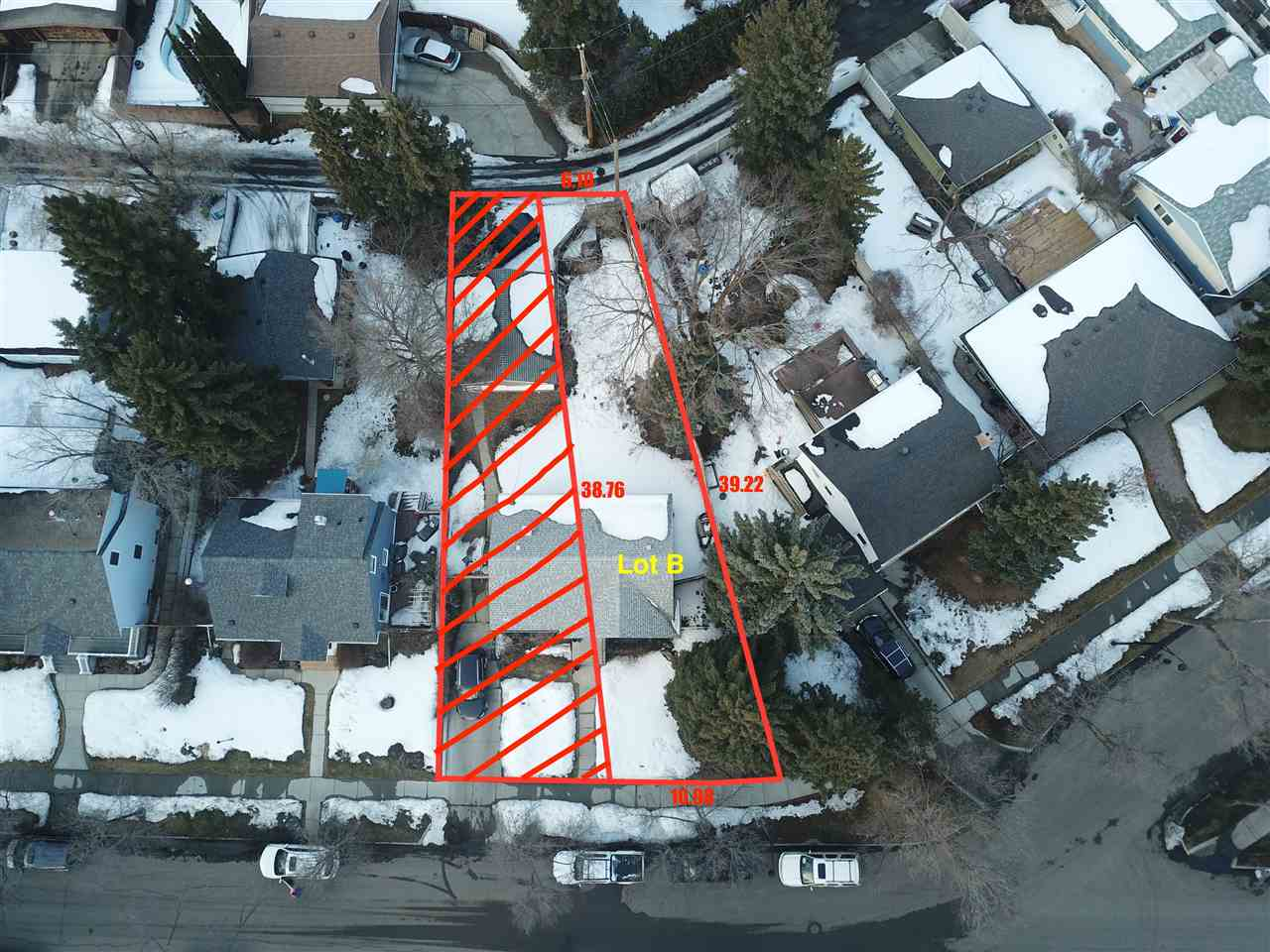 Here is a wonderful opportunity for you to build your dream home in Crestwood, one of the most sought after communities in Edmonton. This soon to be vacant lot sits on a beautiful, quiet, treed lined street just a one block from the Mackenzie Ravine. This property is also just steps from Crestwood public school, St. Paul Catholic school, loads of playgrounds, a community centre, an outdoor hockey rink and a curling club. This lot has a 36' wide frontage and 127' deep. Plenty of space to build a large 2 or 3 story home. The original home still stands however the house will be demolished and the site cleared before possession. The seller is able and willing to build a new home on the property and has awesome house designs/plans available if required.