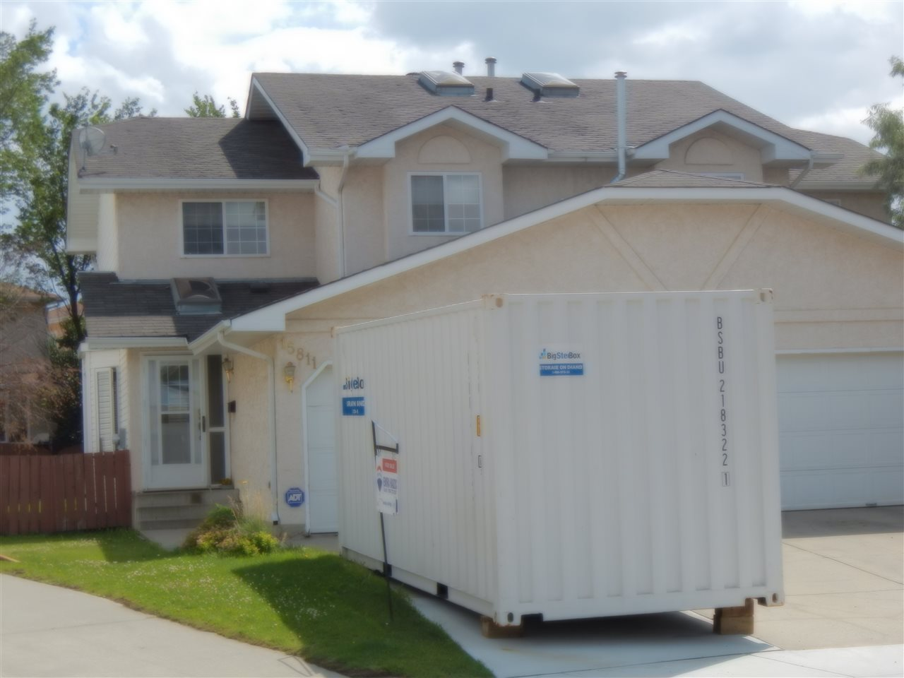 NO CONDO FEES / HALF DUPLEX......DOUBLE ATTACHED CAR GARAGE!!! This is a great affordable starter home in a charming community of Ozerna. This half duplex offers 3 generously sized bedrooms, a partly finished basement. The main floor of this beautiful home features a spacious kitchen with a stainless steel appliances, loads of cabinets and an island. On the mail floor is a 2 piece washroom, an open concept living room with a corner gas fireplace, bay window, Hardwood floor and a dining room. The upper floor of this gorgeous home features a large master bedroom with walk-in closet and 3 pc bath and 2 other big bedrooms  and a 4 piece bathroom. The partly finished basement features a large family room, laundry room and office/den. At the back of the house is the massive back yard, fully fenced with deck access from the kitchen/dinning door. Great location, close to playground , Anthony Henday and many shopping outlets