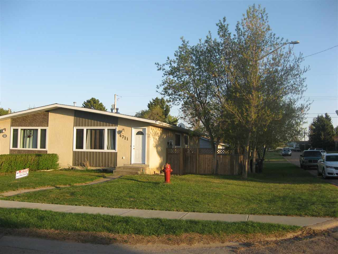 Perfect starter home with loads of upgrades done including shingles, windows, entry doors, wiring, plumbing, new kitchen, tile floors and paint. The main floor has large open concept living room, dining area, kitchen, 3 good sized bedrooms and 4 pce. bath. The basement is developed with large family room, bedroom, den, laundry room and 3pce. bath. Comes with all newer appliances and window coverings. The large fenced yard has a double garage and backs onto a park.