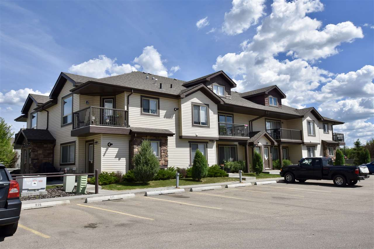 ****EXCELLENT LOCATION AND VERY AFFORDABLE**** Check out this 2 bedroom, 1 full bathroom Carriage Style Condo in the desirable neighbourhood of Charlesworth. This 2009 built unit is ground floor and comes with one energized parking stall directly out your front door. Very affordable and low condo fees make this one perfect for first-time buyers, investors or retirees. insuite Laundry, well-maintained complex with a great location. Good sized living room and dining area, as well the kitchen has an island and lots of cupboard space. The master bedroom is the right size and the second bedroom has patio doors leading outside. Hurry before this one is gone!!