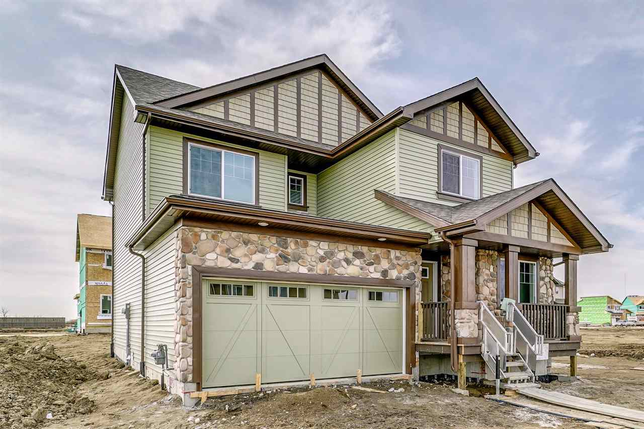 Welcome to Riverview, a country feeling in the city ? YEG?s newest SW community! The NEW Sierra-z by Daytona Homes has 2058sqft of living space ? 3 bedrooms plus den, bonus Room & 2.5 bathrooms! Entering the home you will love the 9 foot ceilings & wide plank laminate flooring throughout the main floor. The spacious kitchen includes a large island with breakfast bar, quartz counter tops, walk-in pantry & large dining area is open to the kitchen.  Continue on into the living room with large windows overlooking the backyard! The mudroom & ½ bath completes the main floor. Upstairs the main feature of the bonus room separates the bedrooms. The master bedroom has a large walk-in closet & 5 piece ensuite (2 sinks)! Bedrooms 2 & 3 are both a good size, 5 piece main bath - 2 sinks & large upper laundry completes the 2nd level. Beautiful new home in a great new community!