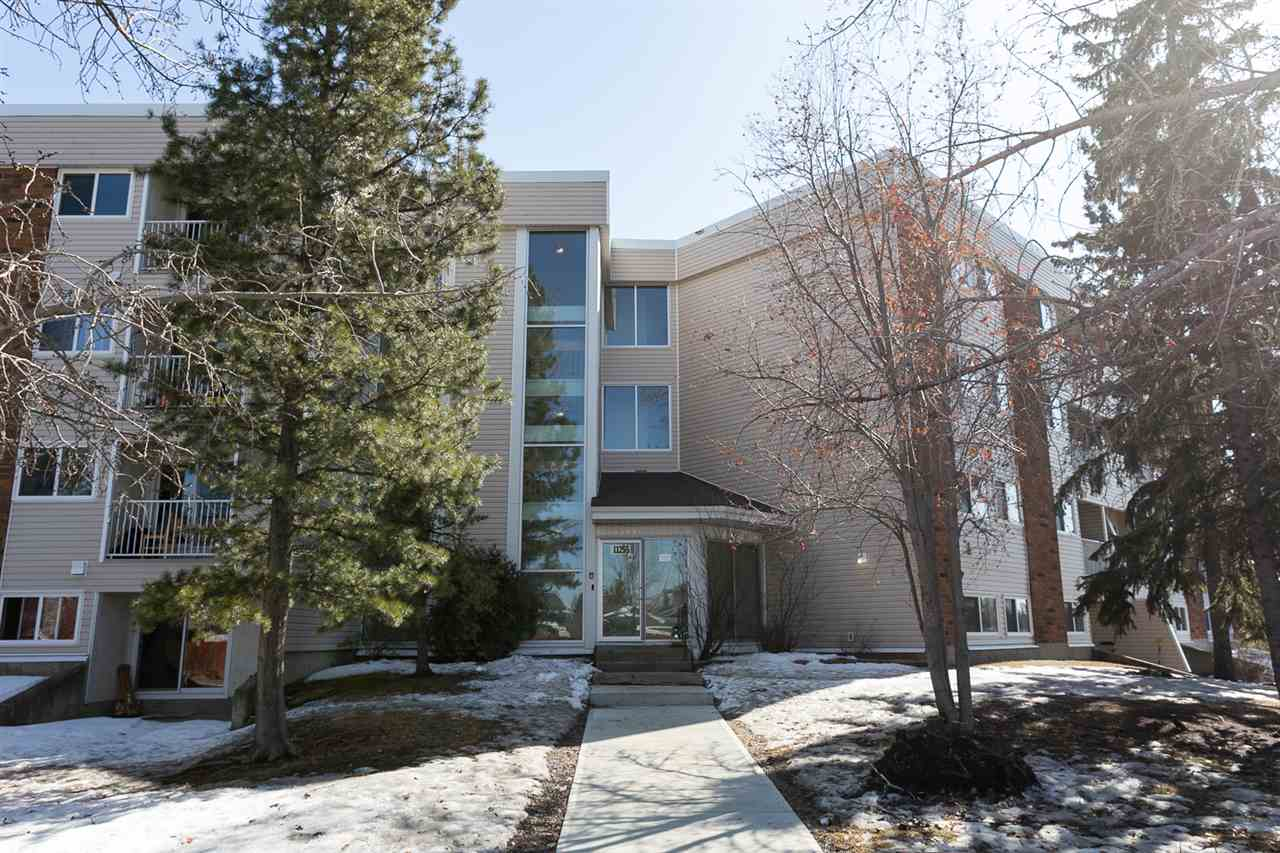 Lovely two bedroom unit close to schools, parks, the LRT, and easy access to most of the city!  The building has on onsite property manager, facilities which include a daycare, pool, tennis/basketball courts and gym.  There is a rental pool opportunity. This is a great buy for a first time home owner, or an investor alike!  The building is well maintained with newer windows, sliding doors, and siding. This unit has been completely overhauled with new carpet, paint, counter-tops,  balcony and is move in ready!