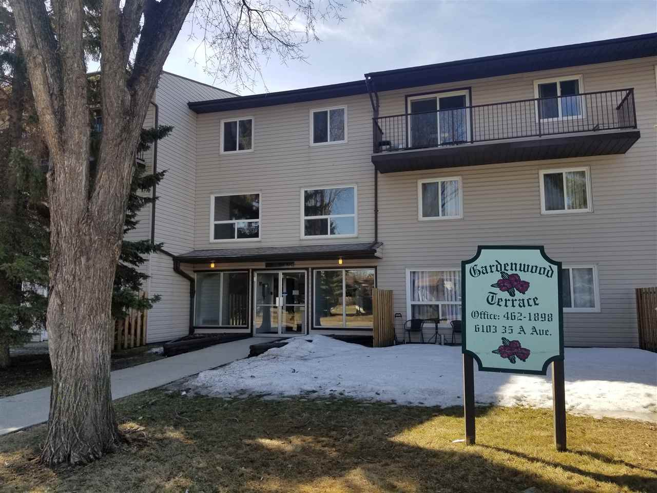 Excellent property for a first time home buyer!!! Great value for this 2 storey, 2 bedroom apartment style condo with 955 sqft of space. Kitchen and living room are on the main floor while you will find 2 large bedrooms and a big walking in storage room on the second floor. Separate entrance to the unit from the patio area. The condo is located in a mature and quiet area with easy access to schools, stores, and public transit.