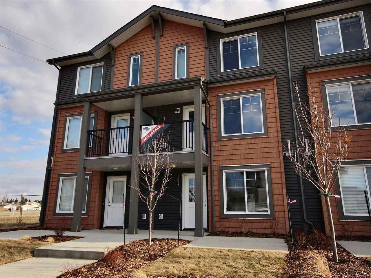Brand new Townhome located in a mature neighbourhood backing onto a park & school. This open concept townhome features a Quartz kitchen countertop, Laminate throughout the main floor, ceramic tile in entry way & bathrooms, microwave hood fan, stainless steel appliances, en-suite walk in shower and beautiful large windows. This 1300 Sqft (builder size) double car garage home is a perfect for low maintenance and pet friendly living.