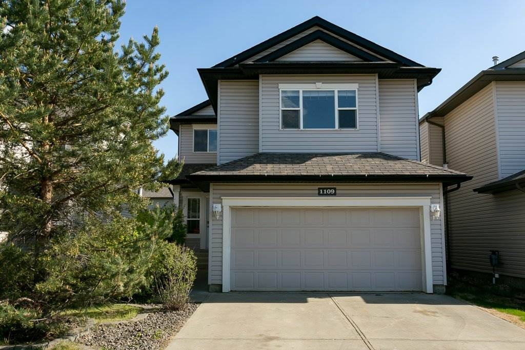 Fantastic, Well Maintained 2-Storey in Macewan! The main floor welcomes you with a roomy front entry & spacious living room, with a GAS FIREPLACE, that is open to your Dining Room & Kitchen. The main floor has UPDATED TILE, a WALK-THROUGH PANTRY, back entrance with the POTENTIAL for MAIN FLOOR LAUNDRY, access to your Double Garage & a 2-Pc Bathroom. Upstairs is a large BONUS ROOM, your Master Bedroom that can easily fit a King Size Suite & has your own 4-Pc ENSUITE with a great WALK-IN CLOSET, plus 2 Additional Bedrooms. The Basement is Fully-Finished with the potential for 2 additional bedrooms if needed, offers ample storage space & a ROUGHED-IN bathroom. Your South facing backyard offers a DECK, CONCRETE STAMPED PATIO & STORAGE SHED. This great home also offers CENTRAL AIR-CONDITIONING, Freshly Steam Cleaned Carpets, Reseeded Back Lawn & an Excellent Location to Shopping, Schools, Anthony Henday & so much more! This is a MUST See!