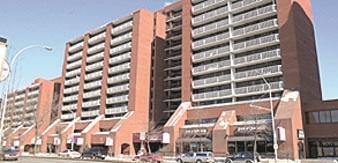 Huge 1 Bedroom condo, close to 800 square feet with underground parking, 1 Block from Macewan University, Norquest College, LRT station. Blocks from Rogers Place Ice District. Formal dining room opens to living room with large balcony. Fantastic East facing, unobstructed Downtown views. Across from Save On Foods. Minutes to Legislature grounds and U of A. Super convenient to work and schools. Priced to sell. Currently rented for $1195 per month until April 2019 however an earlier possession may be arranged.