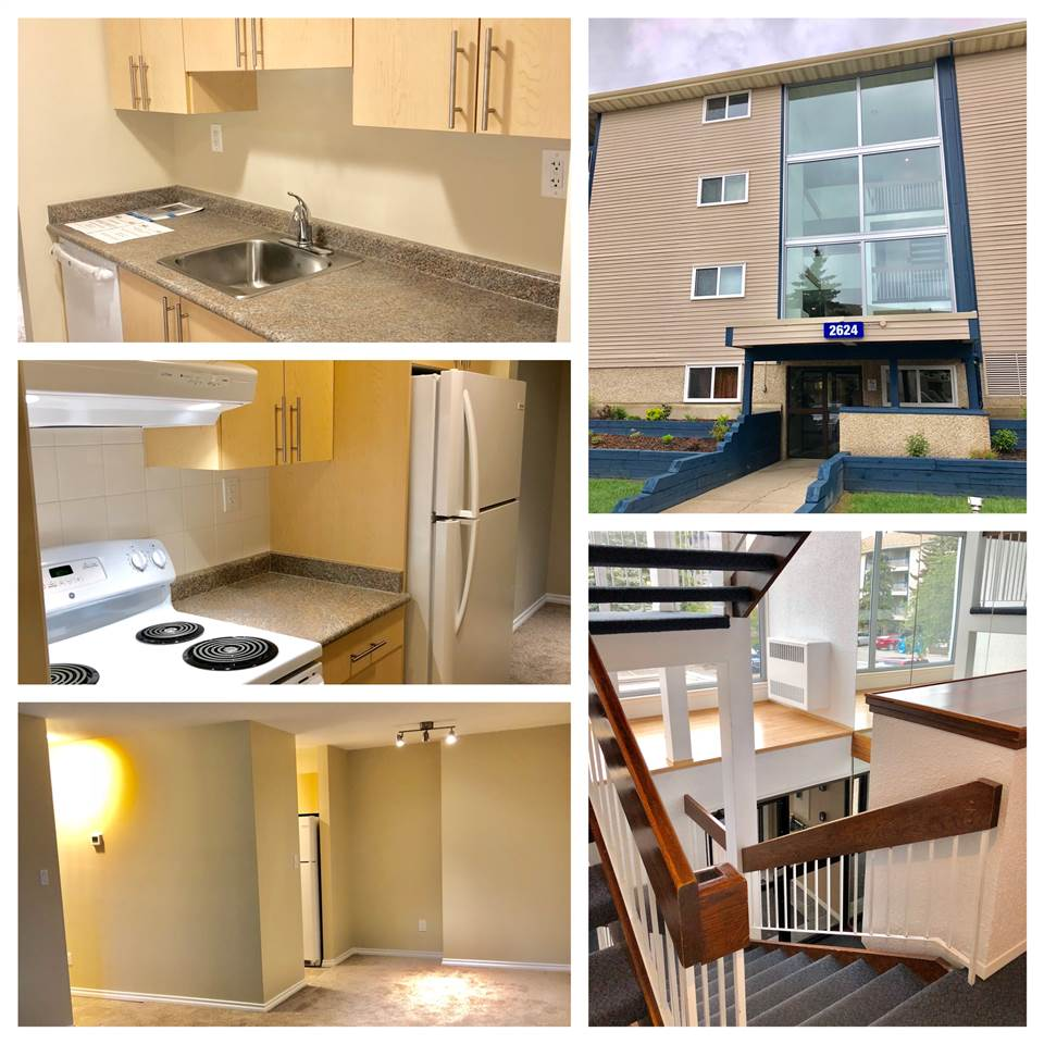 LOCATION IS EVERYTHING! CALLING OUT ALL INVESTORS, FIRST TIME HOME BUYERS AND OR DOWNSIZERS! This gorgeous unit is perfectly located close to transportation, a walking trail, GURDAWA MILLWOODS, a park, schools, shops and the upcoming VALLEY LINE LRT (MILLWOODS STATION). This unit has been updated and very well maintained. Amazing storage/pantry space! From the new kitchen cabinets and counter to the beautifully laid out dining/living room. Not to mention, newer sliding doors to your balcony and newer window in the bedroom. The unit is conveniently located close to the elevator/stairs. All that's left to do is to move, so come take a look and stay awhile, you'll never know this could be your new home/investment.