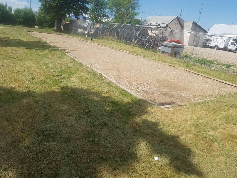 Let the build begin! This serviced 50' X 140' lot in Glendon is landscaped and has tons of potential. Currently set up for mobile home.  Next to grocery store and walking distance from park and all amenities. It starts here!