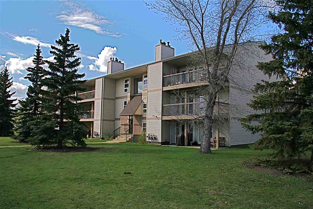 What!  THIS CANNOT BE?!?  PRICED TO SELL?  ABSOLUTELY!  Fantastic condo in Erminskin is ready to go for anyone looking for a great place to live in a private setting, but Close To All Amenities!  Or...that investment property on a bus route or close to LRT for a Student's ease to get to the U of A.  BRAND NEW FLOORING & BASEBOARDS throughout, this is a very well maintained property with easy access out the patio doors to your parking stall.  Tons of space, IN-SUITE LAUNDRY, dining room area off of the kitchen, living room with floor to ceiling brick lined fireplace, 2 separated bedrooms, a 5 piece bathroom with his & hers sinks.  Master bedroom has a walk-in closet & direct access to main bathroom.  So much value for a low price...DON'T WAIT if you want a CHANCE at owning this GEM!