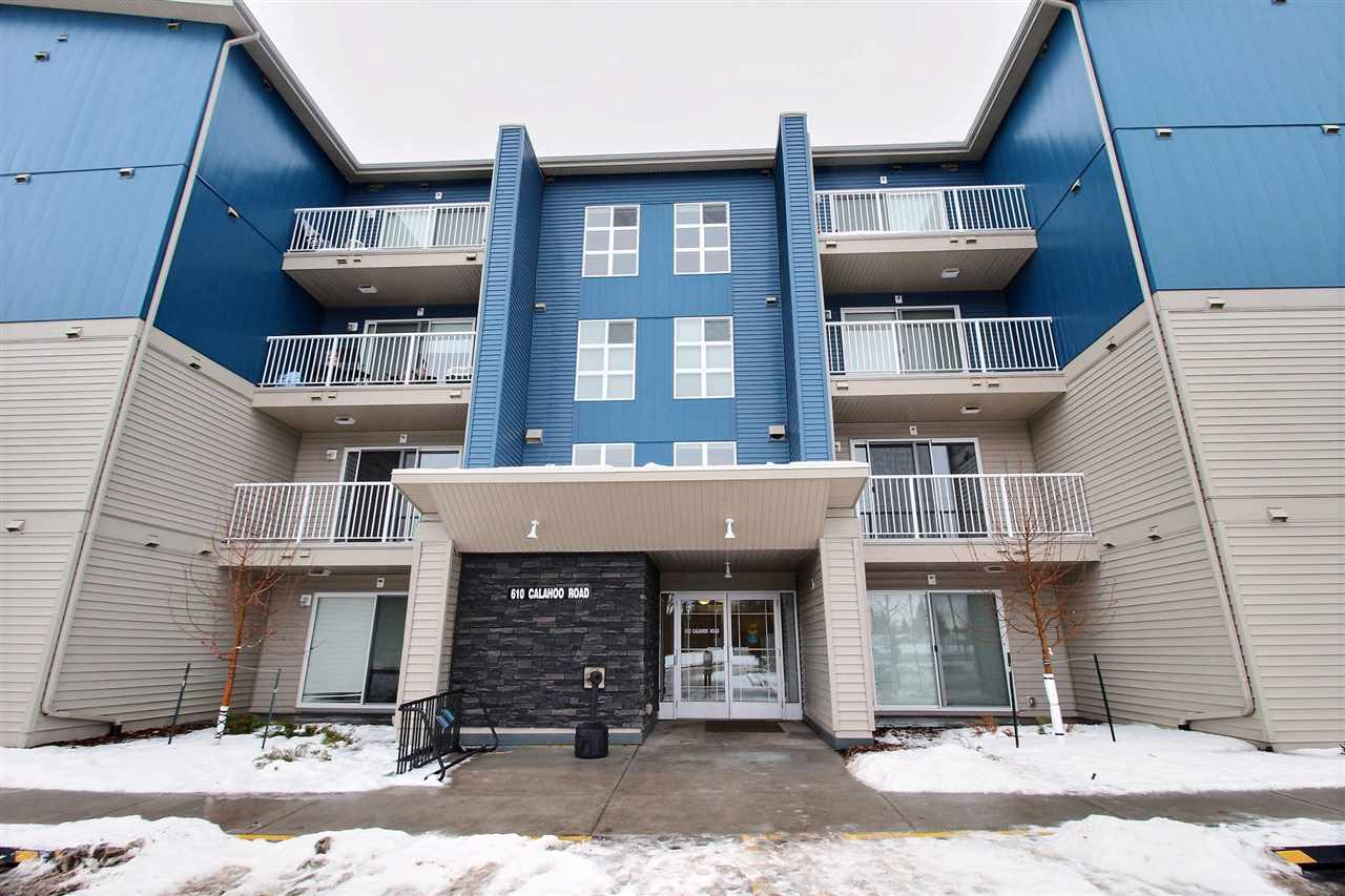 Affordable living in a BRAND NEW building. Located in the heart of Spruce Grove, this studio has everything you need. There are 6 appliances, including in suite washer and dryer! The building features an elevator as well as a gym.  This is a MUST SEE!