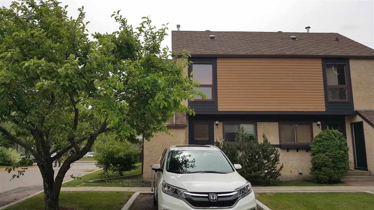 End Unit in desired complex. If you like a little unique this has it. Renovated with neutral decor. Gas stove for the cook in you. Upgraded flooring and paint. Very nice yard with deck. Closed to all amenities.