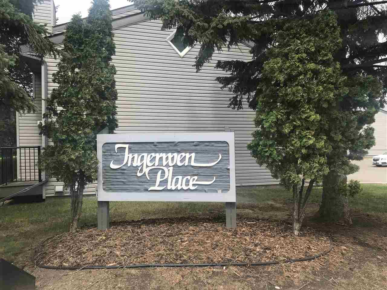 Ingerwen Place....LOCATION is outstanding in Greenview! And such a complex...siding, steps, windows ,shingles, soffits, fascia are a few of the recent upgrades. This end unit has parking right in front of the door and boasts some raspberry plants also. This unit is nice and clean, has 2 bedrooms with 2 full bathrooms and a powder room on the main floor. There is a fully finished basement with a large family room, one of the full bathrooms and a separate laundry area. This well kept complex is close to everything... recreation places, swimming pool, shopping, public transportation, dog park, and schools for every age.