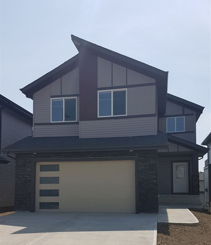 "Welcome to This gorgeous BRAND NEW 3 bedroom home on WALKOUT lot, Approx 2600 SF of living space.South facing Backyard, Located in a quiet & cul de sac Community Of Creekwood Chapelle, HIGH END FINISHING throughout. 24X24 Tiles & Engineered Wood, 9' ceilings, 8' Doors, Flex Room / Den on main with Full Bath, Quartz Counter tops throughout,Built In wall SS Appliance pkg, 36"" Gas Cook top, Huge Island, Family room c/w designer fireplace & oversized windows. Custom Blinds, Glass Maple Railing leads you to 2nd level Huge Bonus Room, 3 Bedrooms & Laundry Room with Sink & Cabinets. Master Suite includes Spa like en suite with walk thru walk in Closet.Triple Pan Windows, HRV System, Built in Sound System on both levels with speakers on Rear Deck.4 Zone Sound Controls.Upgraded Flooring & Lighting Fixtures. Unspoiled Walkout Basement. Creek Wood is growing community with exclusive events access to residents of Chapelle in Newly built Community Center. New Commercial Development Close by. A Must See, Shows 10."