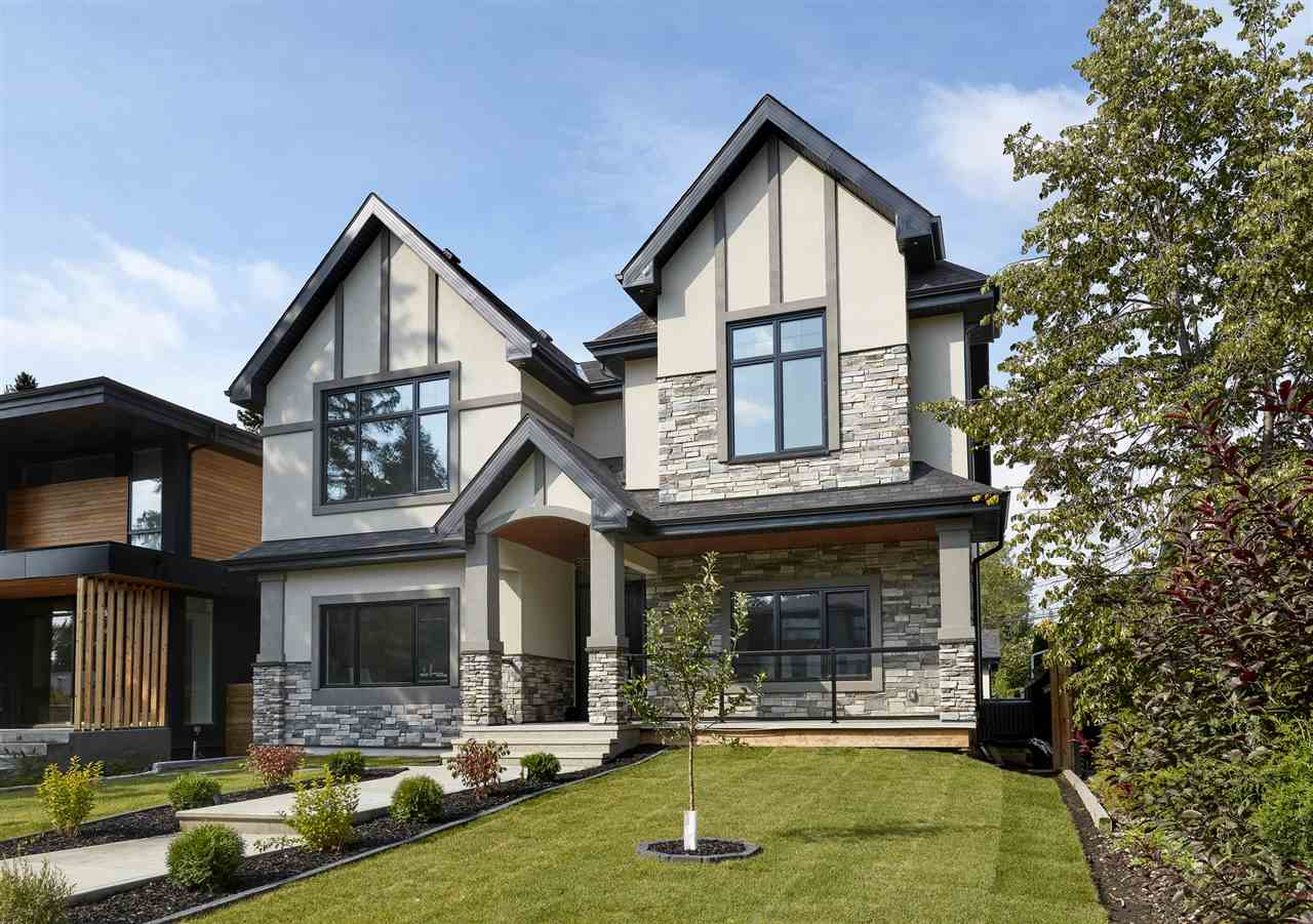 Modern design blended with traditional warmth! Located in Crestwood (steps from the River Valley), this NEW 2 storey home has 4 beds plus fitness room, office & bonus room, 6 baths - 3400 square feet of open concept living space plus a fully finished basement (1400sqft) & oversized triple garage, all on a 7242 square foot lot! Enter the home through the spacious foyer, to your left is your home office & to the right is the elegant dining room. From here you can walk through into the stunning chefs styled kitchen with a large waterfall island & more! The kitchen is open to the living room, where your family will love relaxing by the fireplace. Upstairs, retreat to the master suite with a large dressing room, hotel spa inspired ensuite & west facing balcony! Bed#2 is a good size & #3 features its own 3-piece ensuite, large bonus room with vaulted ceilings & laundry room completes the upper level! Downstairs you will find, a large family room, workout room, 4th bed & basement sports bar!