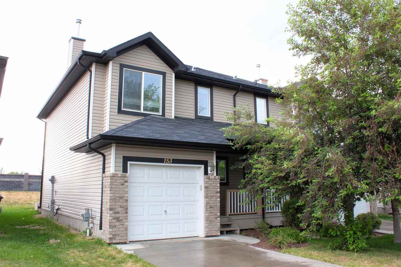 Perfect starter home or Income Property. NO CONDO FEES. This 2 storey with attached garage has an open concept living space and has been well maintained.  The main floor boast an open design with a large u shaped kitchen with ample counter and cupboard space. The kitchen looks out to the dining room and living room. The living room has a gas fire place. Also on the main is a half bath off the front entrance. The upstairs has 3 comfortable bedrooms and 2 bathrooms. The master is large with a 3 piece ensuite. The Yard is landscaped and this home is in walking distance to the Dow Center, and many amenities. Move in ready and quick possession available. Matterport Walking tour available for this property.