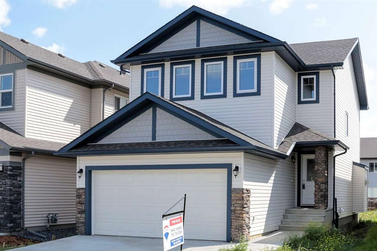 Gorgeous Upgraded Home! This house offers over 1600 Sq Ft of nice open concept living. The Main floor offers HARDWOOD & TILE Flooring. The Kitchen boasts QUARTZ Counter Tops & Mosaic Tile Back Splash. There is a gas line for a Gas Stove & one on the back deck for BBQ. The living room is bright and has a Gas Fireplace with Tile surround. Upstairs you will find A Large Master Bedroom with 5 PC ENSUITE & a separate Walk In Closet with a window. There are 2 more spacious Bedrooms upstairs with access to a 4 PC Bathroom. This level is complete with Upstairs Laundry.