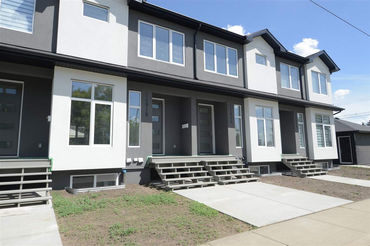 NO CONDO FEES! Don't miss out on this BRAND NEW absolutely stunning 4plex in High Park. 2 master bedrooms each with their own en suite upstairs. Basement is fully finished with 1 bedroom, 1 full bathroom, living room and laundry room. This beautifully upgraded home features LED pot lights throughout, taymor hardware throughout with lifetime warranty, high grade QUARTZ counter tops throughout, soft close cabinets & drawers, mosaic tile back splash in kitchen, premium stainless steel appliances, custom stained maple spindles, custom showers, premium porcelain tile floors, CUSTOM BUILT IN CABINETS/SHELVES in bedrooms and so much more. This home is a must see! Easy access to downtown, parks, schools, restaurants, and shopping.