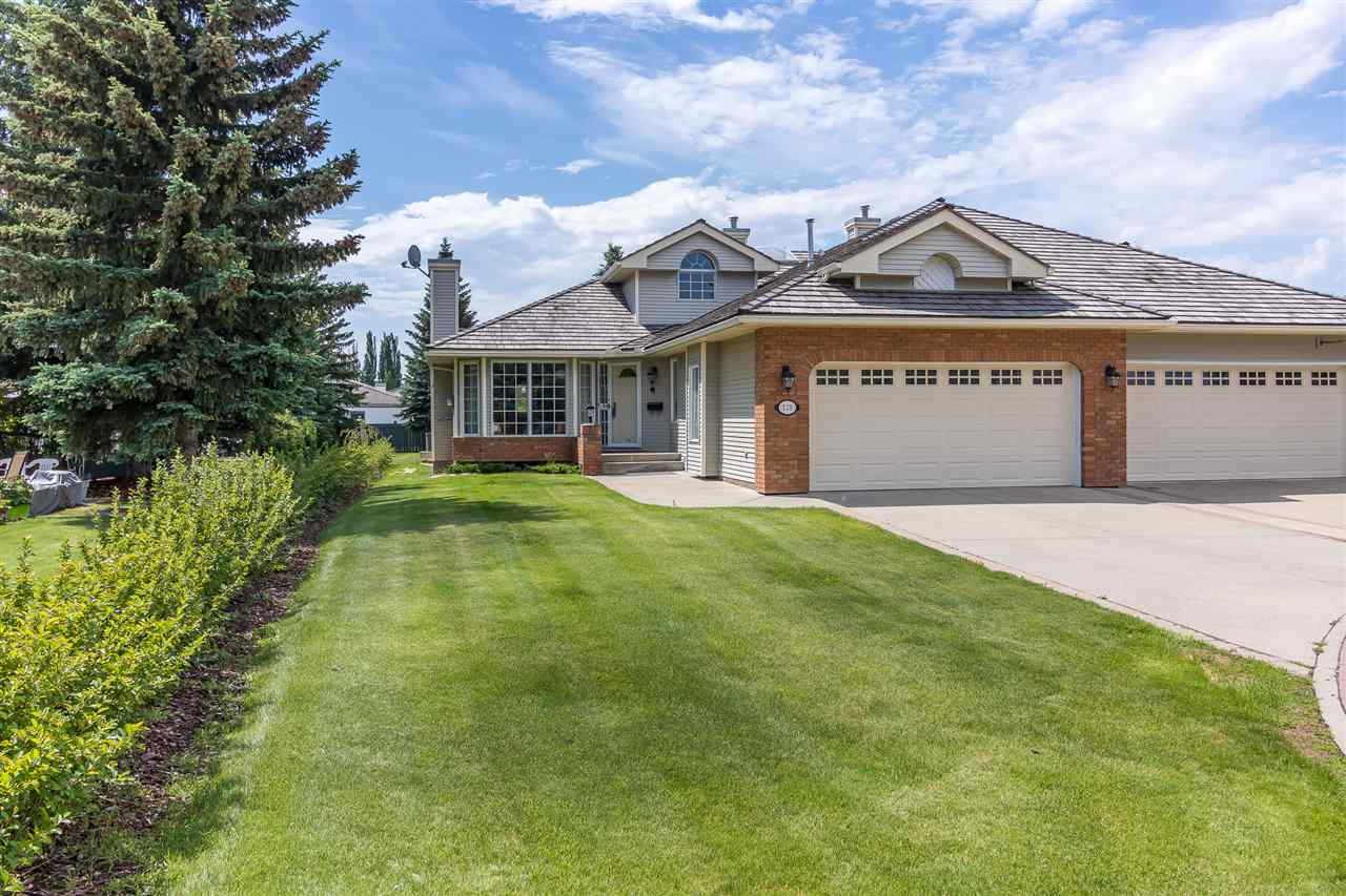 Welcome home to this original-owner, 1,580sqft, 1-bedroom plus den, 2-bathroom, bungalow duplex in Country Club Place. This home features a sprawling living room with gas fireplace that flows into the eat-in kitchen and it?s abundance of oak cabinetry. A garden door off the dining nook leads out to the rear deck and massive rear yard. The main floor has a formal dining room with tray ceiling and views of the beautiful backyard. The master suite features a large walk-in closet and generous 4-piece ensuite bath. The office/ den could be used as a guest bedroom and there?s the main floor laundry and 3-piece main bath that complete the main floor layout. The attached double garage is heated and has a floor drain and hot and cold water. The basement is undeveloped. Come home!