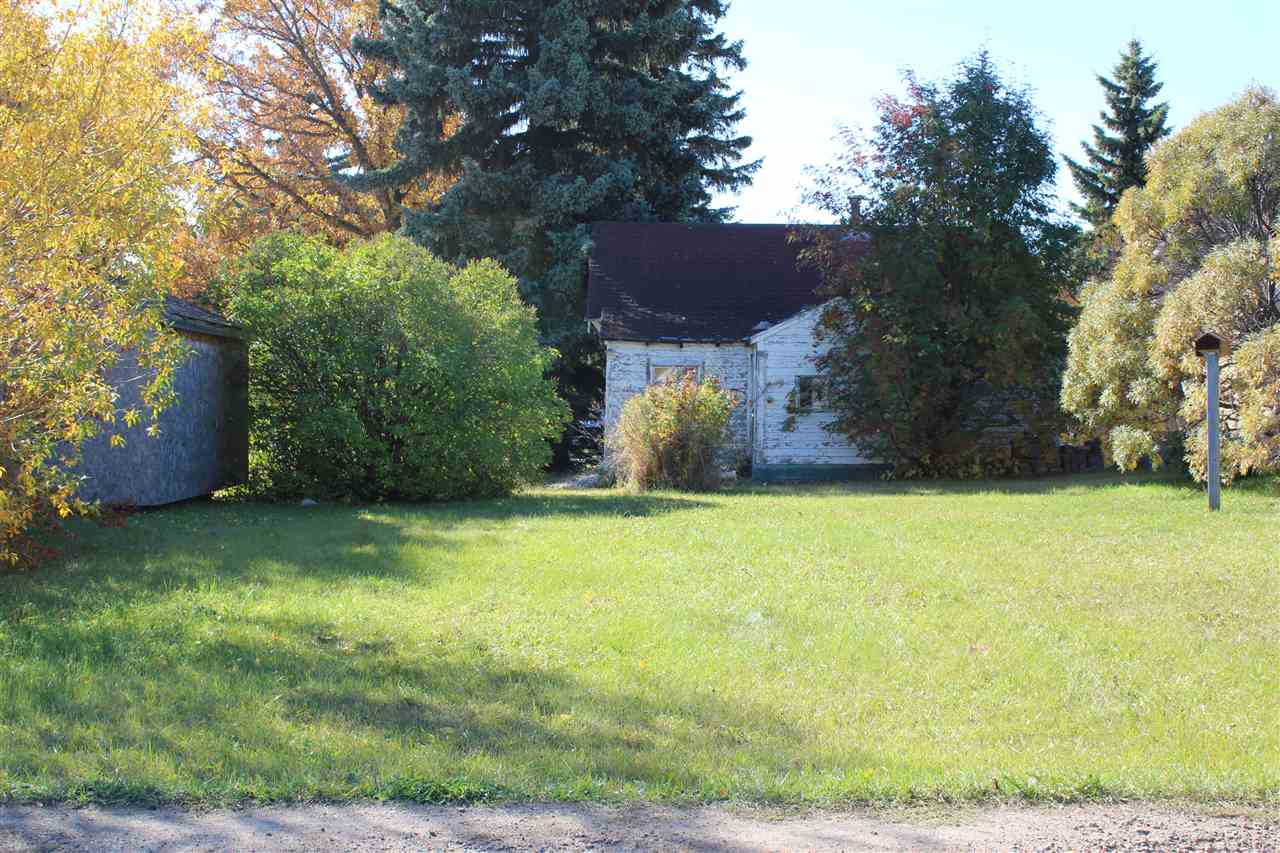 Fantastic opportunity to buy a lot in the Town of Mundare.   SOLD FOR LOT VALUE ONLY!  This 7634 sq ft lot has a small home on it, but the home is not liveable.  This property is sold AS IS WHERE IS.
