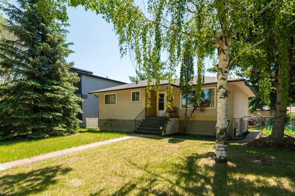 Tons of potential in sought after Hazeldean!  This it the perfect infill opportunity with HUGE 66'x142.5' lot close to Millcreek Ravine in up and coming trendy neighbourhood, close to schools, easy access to all major arteries and just minutes from UofA and Southgate Mall.  Being sold for Lot Value.    Fully finished 3+2 bedroom, 2 bath bungalow with shingles replaced within the last two years and double detached garage.