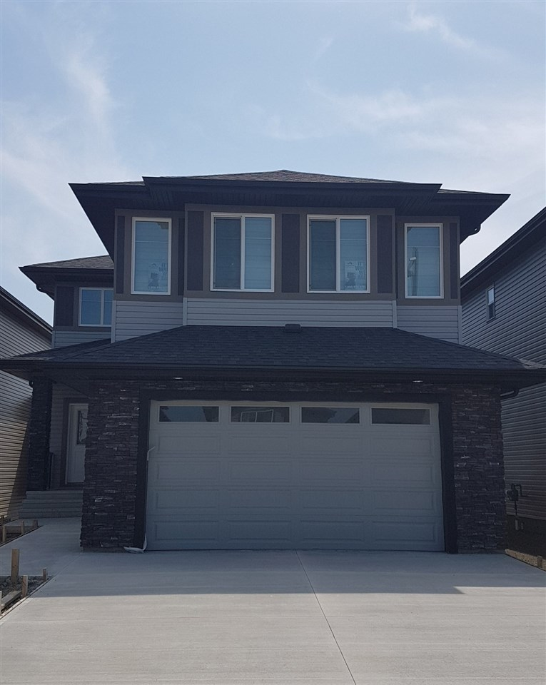 """Welcome to This gorgeous BRAND NEW 3 bedroom home on WALKOUT lot, Approx 2600 SF of living space.South facing Backyard, Located in a quiet & cul de sac Community Of Creekwood Chapelle, HIGH END FINISHING throughout. 24X24 Tiles & Engineered Wood, 9' ceilings, 8' Doors, Flex Room / Den on main with Full Bath, Quartz Counter tops throughout,Built In wall SS Appliance pkg, 36"""" Gas Cook top, Huge Island, Family room c/w designer fireplace & oversized windows. Custom Blinds, Glass Maple Railing leads you to 2nd level Huge Bonus Room, 3 Bedrooms & Laundry Room with Sink & Cabinets. Master Suite includes Spa like en suite with walk thru walk in Closet.Triple Pan Windows, HRV System, Built in Sound System on both levels with speakers on Rear Deck.4 Zone Sound Controls.Upgraded Flooring & Lighting Fixtures. Unspoiled Walkout Basement. Creek Wood is growing community with exclusive events access to residents of Chapelle in Newly built Community Center. New Commercial Development Close by. A Must See, Shows 10."""