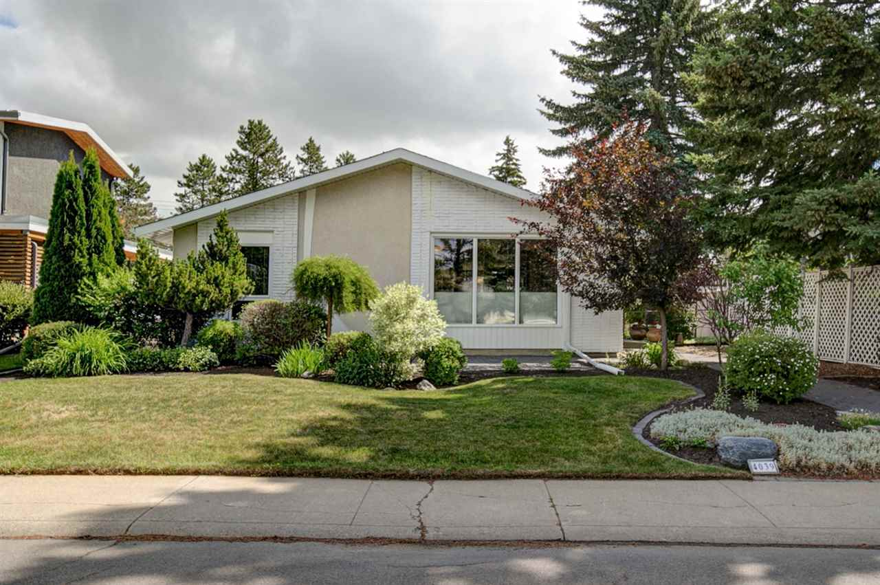 Convenience, CHARM and so much SPACE in Aspen Gardens! Just a hop, skip and jump to some of Edmonton?s FINEST SCHOOLS, this 1413 sq ft bungalow is going to IMPRESS! The BEAUTIFUL curb appeal will draw you in! The LOVE and CHARACTER inside will make you stay for good! With TONS of windows, the NATURAL LIGHT pours in and envelopes you like a great big hug! The large OPEN CONCEPT kitchen area sets the stage for many GREAT MEMORIES! This is a perfect home to grow and live in, as there is a space for everyone! 2+2 bedrooms, a MF den that could easily be changed to a bedroom, a fully finished basement, including a POOL TABLE, and COVERED DECK with gas hook ups! Your LOW MAINTENANCE yard keeps life easy so you can enjoy more fun things in life! Like the AWESOME playground, SPLASH PARK, soccer fields and skating rink just a few steps away! Come live the GOOD LIFE, this one is it!