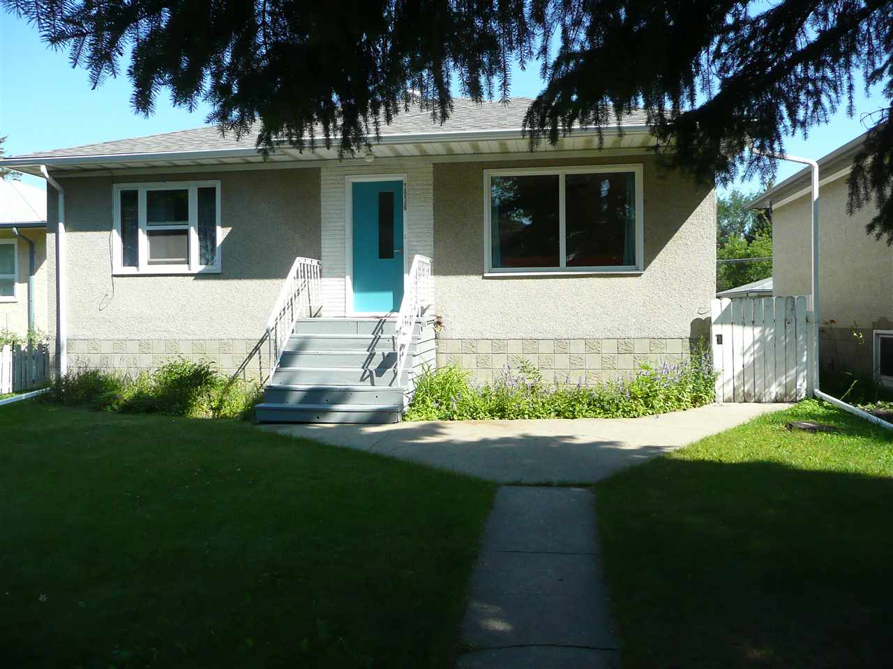 Well maintained 3 plus 1 bedroom bungalow has been recently painted and some renovations in the last year. Large 44 x 160 ft lot that is zoned RF3 and would be perfect for a duplex. Would be a great starter home with the potential to build an infill in area that has seen lots of activity in the last year. Close to Bonnie Doon Mall and a short drive to downtown and access to 75 ST and Whyte Ave. Major developments are in the works and an LRT station only a few blocks away at the mall. There is plumbing and electrical roughed in for a mother in law suite. Some of the upgrades include 100 amp service, vinyl windows, flooring, hot water tank. Loads of potential for redevelopment in an up and coming infill area.