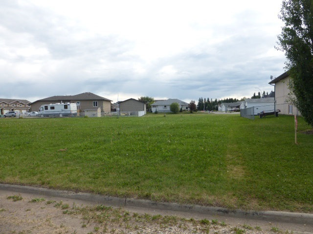 Very affordable residential lot in the Village of Thorsby.  Services available at property line.