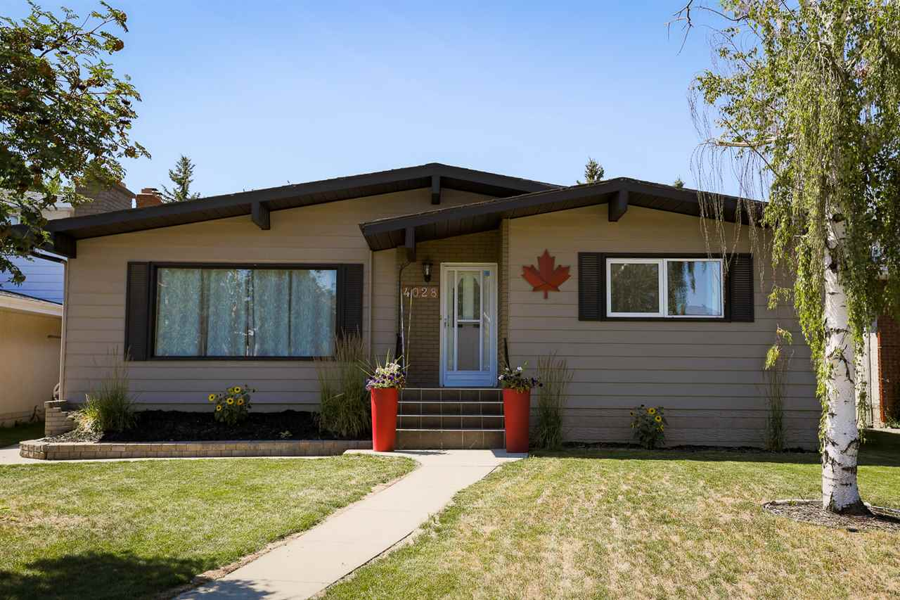 Over 2,400 sq ft of living space!  This SPACIOUS BUNGALOW features an OPEN CONCEPT, RENOVATED KITCHEN.  Ample counter & cupboard space throughout the Kitchen.  Other standout features of this home:  En-suite, Laminate Flooring (no carpet on the main floor) & GAS FIREPLACE.  Large Lot (50 x 120).  Beautiful WEST FACING BACKYARD.  No rear neighbors (BACKS ONTO GREENBELT) create a private oasis in the City.  The Garage is makes a great workshop and/or storage center (OVER SIZED, HEATED, DOUBLE GARAGE).  Recent upgrades include:  Roof (2016), HWT (2017), Basement Carpet (2018), & Entire House Painted (2018).  Livability!  LESS THAN 15 MINUTE WALK TO SOUTHGATE LRT STATION & many amenities & shopping at Southgate Centre.  Quiet, mature area with lovely neighbors.  Neighborhood features one of the best schools in the City, Rideau Park.  Walking paths & parks are abundant and close proximity to Off Leash Dog Park.  Easy access to the Whitemud and Henday.