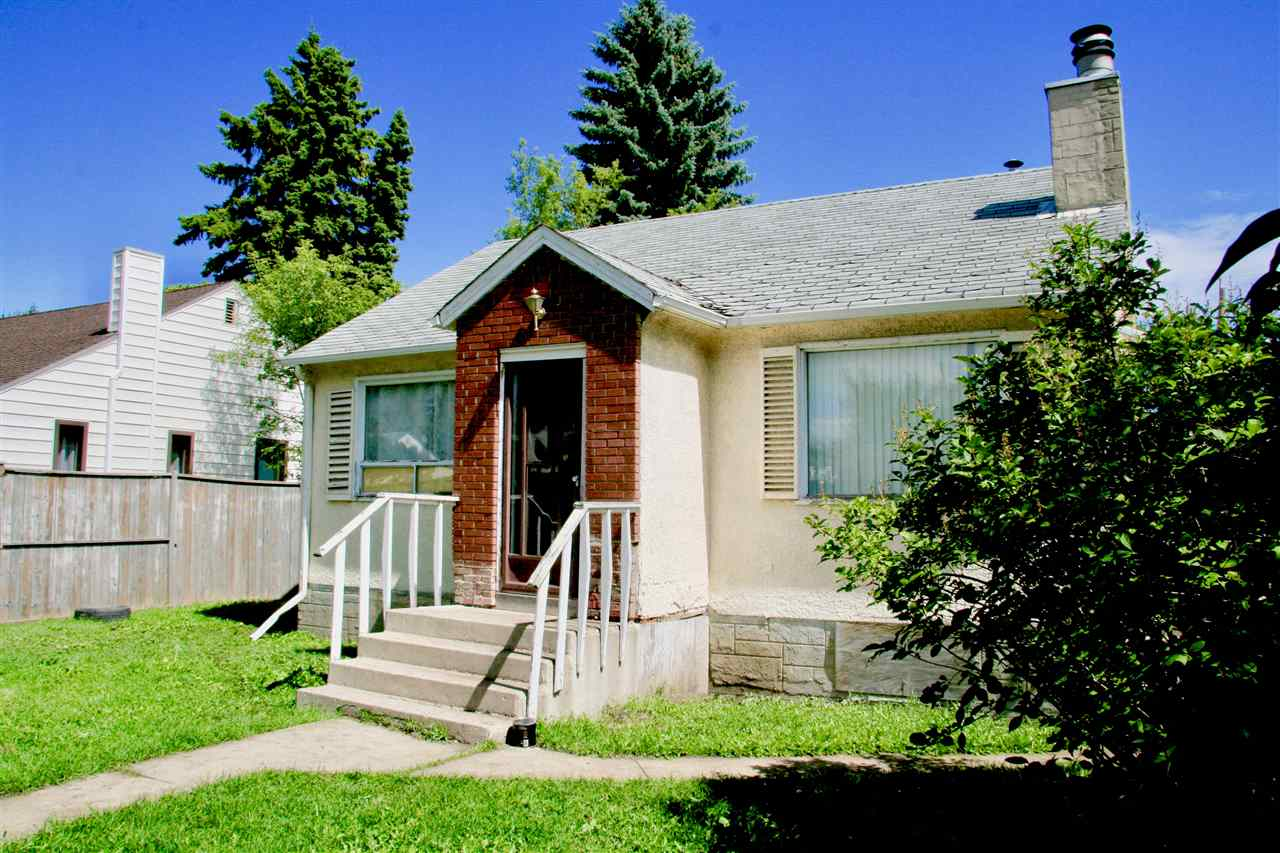 "INVESTOR ALLERT!!  RF3 ZONING - Sieze this chance ""BUILD"" a future...perhaps a duplex, the possibilities are endless - this undeniably can be a great money-maker.  OR...FANTASTIC OPPORTUNITY for anyone looking to build some sweat equity!!  Handyman special and a chance to own something while taking your time to fix it up.  Easy access to Yellowhead Trail, close to schools, shopping, all in a community that is getting a facelift as we speak.  Walking distance for your kids to the Prince Charles Splash Park - perfect place for you and them alike to spend a fun-filled summer day!  Plenty of infill projects in this vibrant community so you will fit right in with all the rest of the smart investors.  Large lot with a double garage...can't ask for more for this great price.  Pull up your socks and BUILD your future!!"