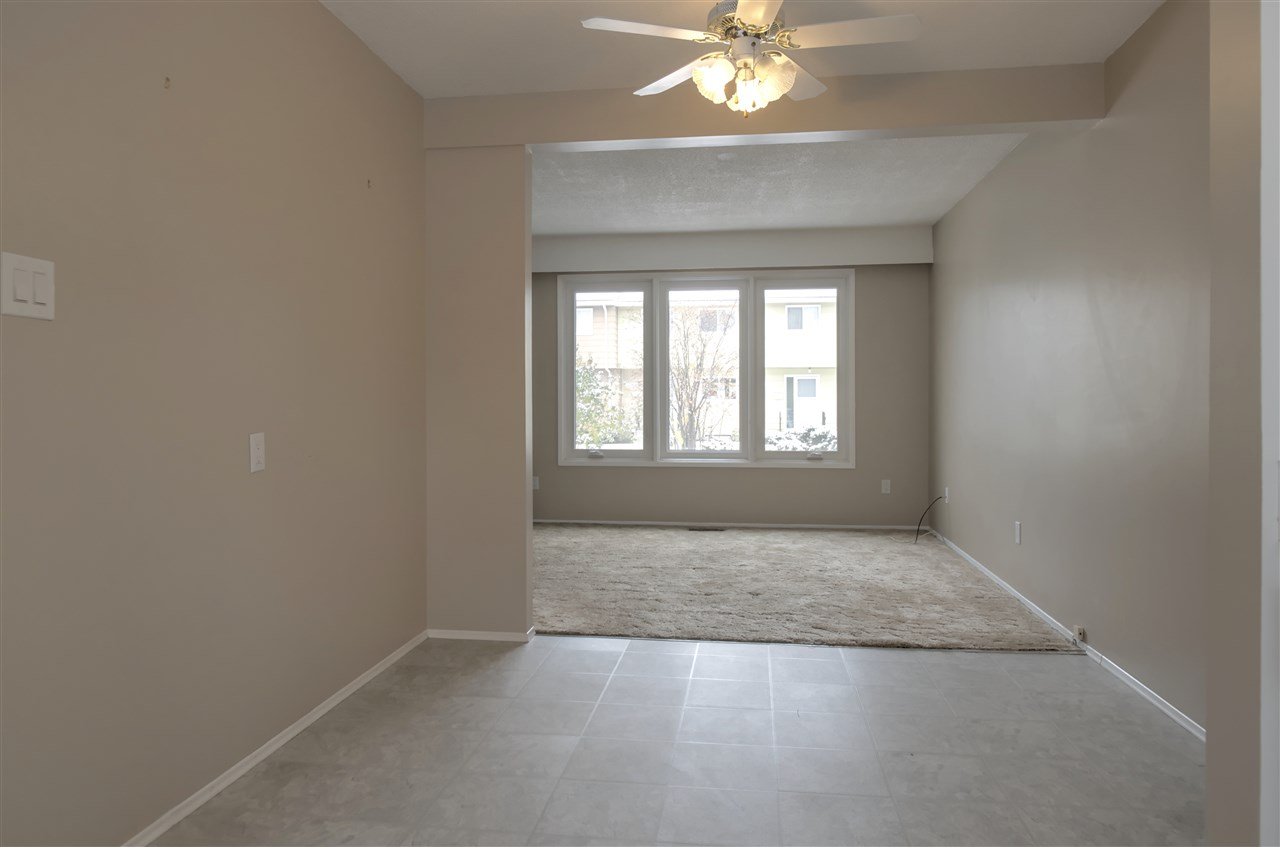 The Perfect Starter Home or Investment Property! With a prime location, just 2 blocks from West Edmonton Mall ETS Terminal, this great 3 bed condo is ready for Immediate Possession. Clean and bright, this home features 2 updated bathrooms, a large master bedroom, and a back patio just perfect for summer BBQs! You will never have to worry about lawn maintenance or snow removal; it is all taken care of for you!  Enjoy a location close to parks, public transportation, restaurants, shopping and every amenity.