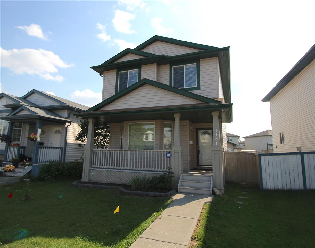 This lovely home is ready for it's new owner. 2 storeys over 1340 sq ft double detached garage and ready to be moved into, it has 3 bedrooms, 2.5 baths and a fully finished basement. It's has very nicely landscaped yard with fruit shrubs and tree, facing south and fully fenced. An elegant cherry-wood floor in the living room and a kitchen with crown molding accents the main floor. A very bright kitchen with south facing natural light with ample cupboard space, a spacious pantry and an island. Newer double door fridge, stove and a built-in dishwasher, all in white makes a nice contrast with cherry coloured cabinets. The master bedroom is complete with a3 pc bath and a walk-in closet. Close to shopping, schools and public transportation also near the new shopping area and movie theatre. Available for a quick possession.