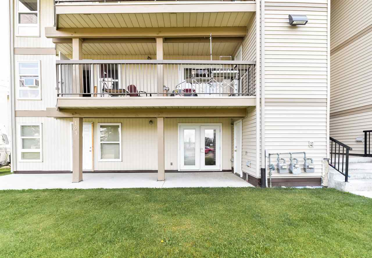 Welcome to this newly RENOVATED 1075 square foot condo. Featuring 2 bedrooms, full bathroom and Insuite LAUNDRY ROOM! Open concept living room and dining room. New kitchen with beautiful BACKSPLASH! Comes with ALL the appliances including washer and dryer. Includes one outdoor parking stall steps from the unit! Just move in and enjoy this spacious renovated condo!