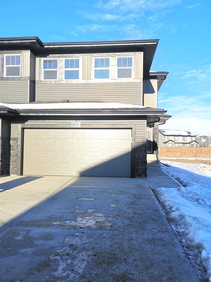 Beautiful 3 bed, bonus room, 2.5 bath duplex by Dolce Vita Homes.  White quartz counters in the kitchen, huge walk-thru pantry, large ensuite and master walk in closet.  Front landscaping is included in the purchase.