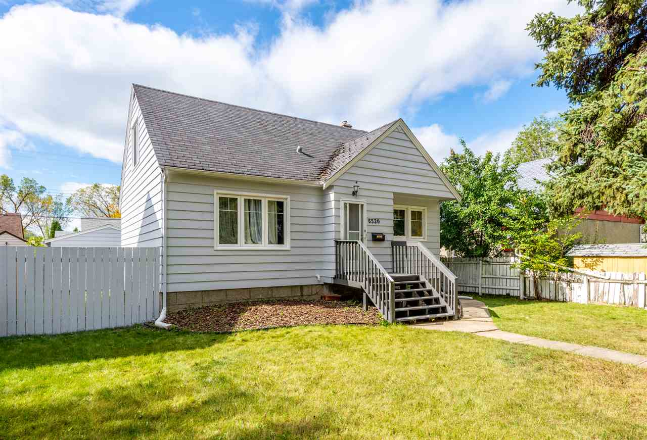 Upgraded semi-bungalow home located in desirable Allendale in University area. This home is located on a gorgeous tree lined street sitting on a lovely & wide 52'x106' lot Zoned RF3 ? great potential for a future development. It boasts 1,200+ sqft, 3+1 bedrooms, 2 full baths & TWO sets of washer/dryer. Laminate flooring & tile throughout with no carpet. Separate entrance to basement suite with living room, a second kitchen, one bedroom, 1 full bath and its own washer/dryer & large windows. Extensive upgrades include newer vinyl windows, newer roof, new furnace & hot water tank, new flooring & baths reno and much more! Super convenient location with great access to UofA, Calgary Trail, restaurants & shopping.