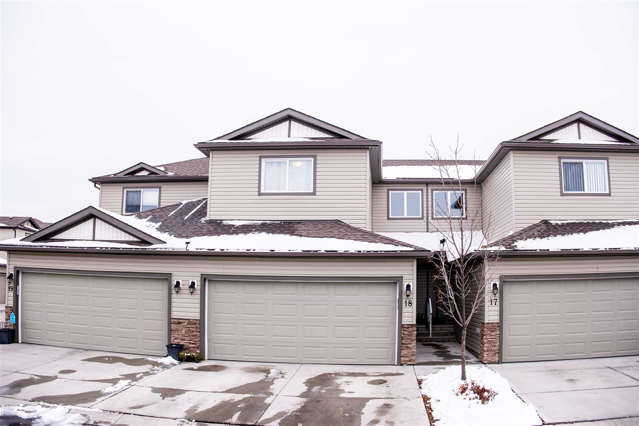 This 2014 built 3 bed 3 bath Townhouse in Brintnell has so much to offer to a growing family. This 2 storey offers double attached garage and features open main floor plan with dark maple kitchen cabinets  with island, Stainless Steel Appliances, bright  living room, dininig area leading to the deck, 2 pc washroom and beautiful laminate flooring throughout. Upper floor features huge master bedroom with 4 pc ensuite and large walk-in closet, 2 more large bedrooms, second full bathroom and laundry room. This home is close to every amenity and has quick access to Manning Freeway and Antony Henday.