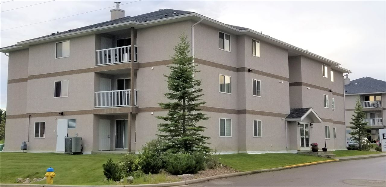 Cold Lake Real Estate's Grandview Village offers great condo living so close to the beach & the Marnia's boardwalk.  Open concept great room, 2 bedrooms, 2 bathrooms, insuite laundry, insuite storage, energized parking stall #1204. Includes fridge, stove, microwave/hoodfan, dishwasher, washer & dryer.  Heat & water are included in condo fee.  SELLER has paid condo fees to July 2019....BONUS